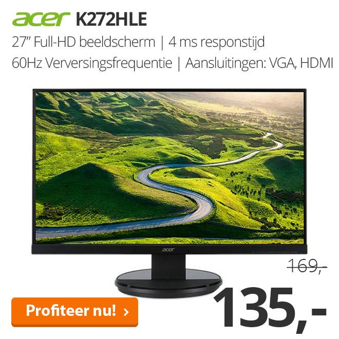 Acer K272HLE - 27