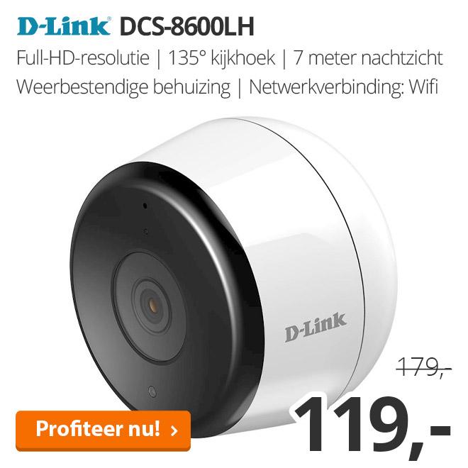 D-Link DCS-8600LH - Outdoor Wi-Fi-camera