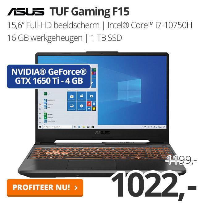 ASUS TUF Gaming F15 - FX506LI-BQ034T