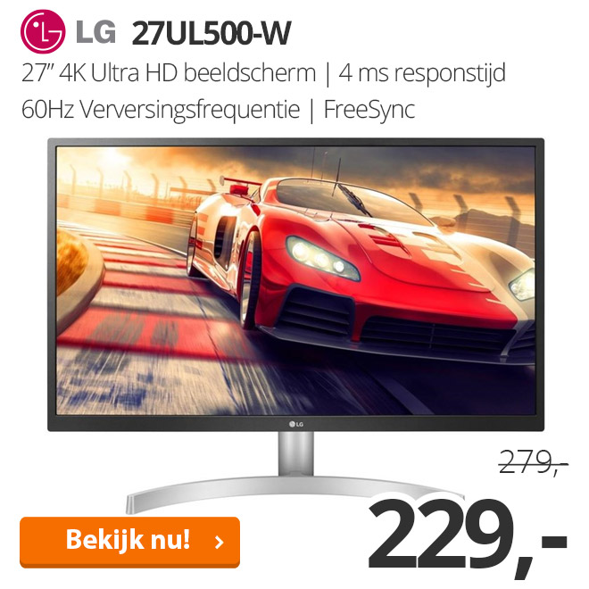 LG 27UL500-W