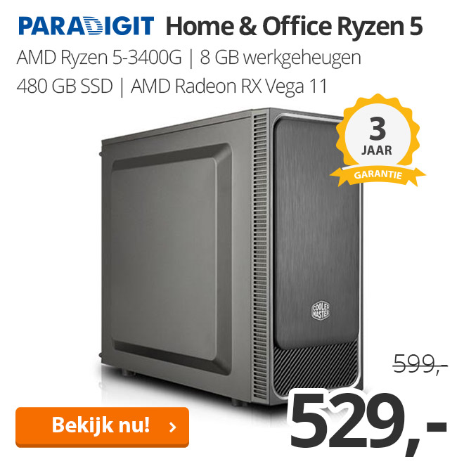 Paradigit Home & Office Ryzen 5 3400G
