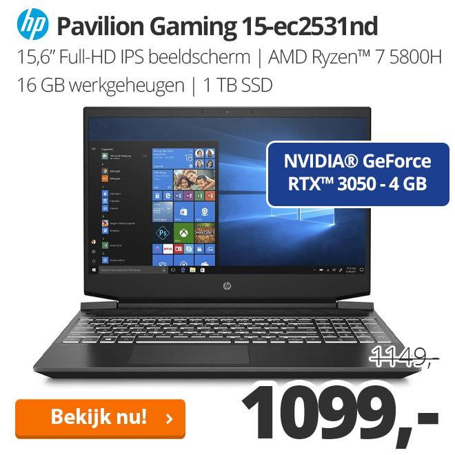 HP Pavilion Gaming 15-ec2531nd