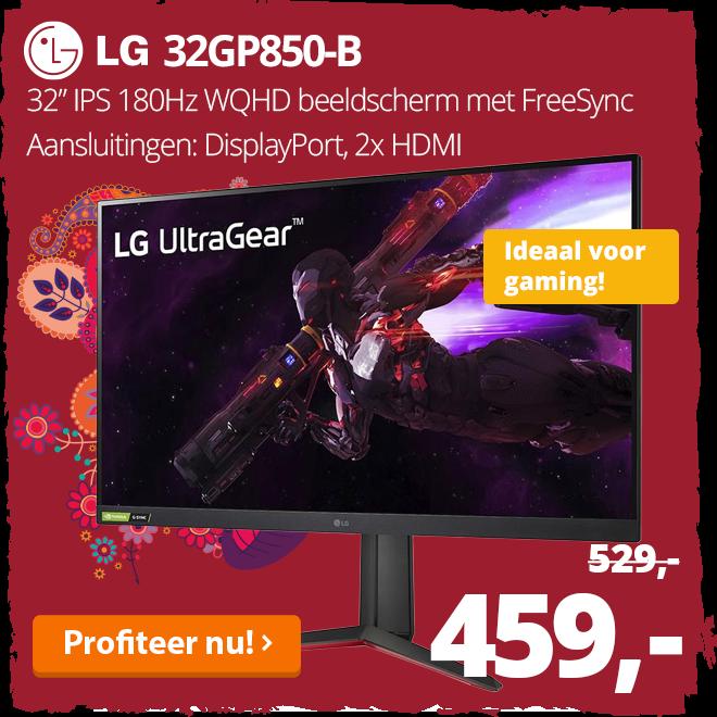 LG 32GP850-B - 32