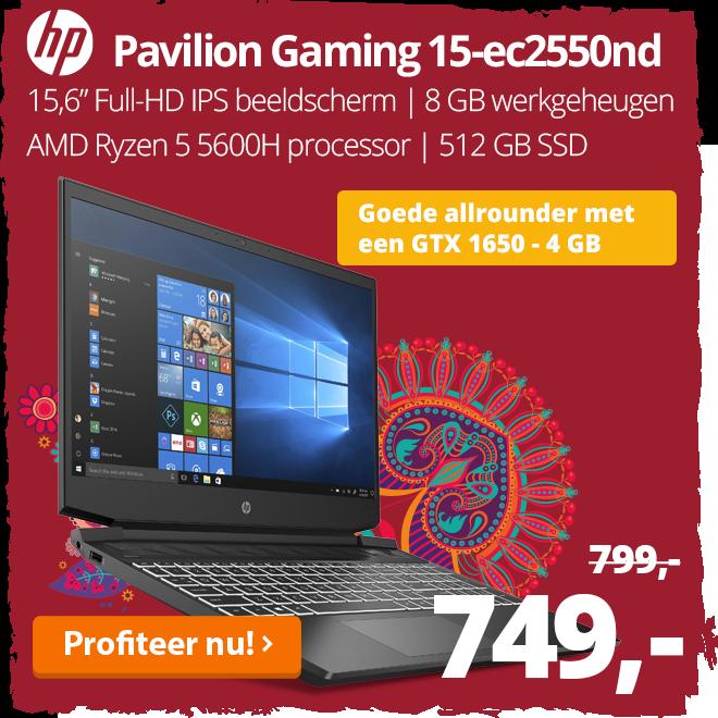 HP Pavilion Gaming 15-ec2550nd