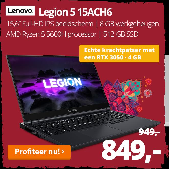 Lenovo Legion 5 15ACH6 - 82JW003FMH